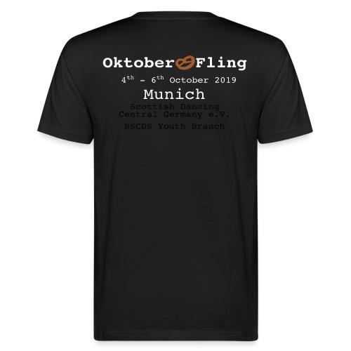 oktoberfling_braunebreze - Männer Bio-T-Shirt