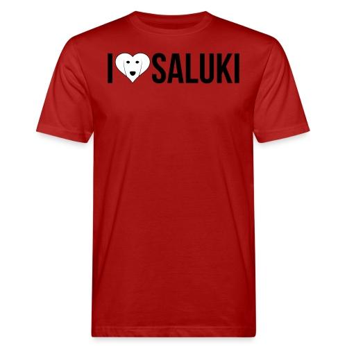 I Love Saluki - T-shirt ecologica da uomo