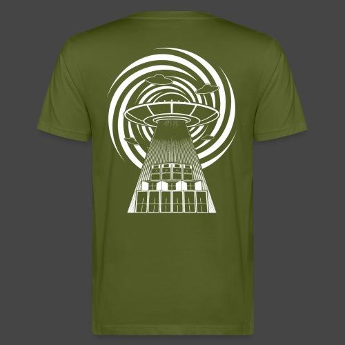 Alien Tekno 23 UFO frameless - T-shirt ecologica da uomo