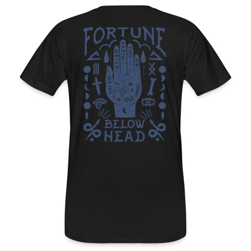 Voodoo blue - Männer Bio-T-Shirt