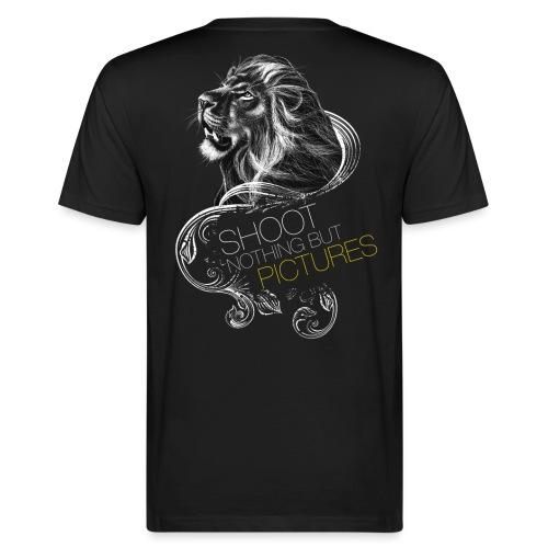Cecil leeuw op zwart NEW - Men's Organic T-Shirt