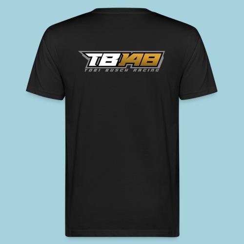 Tobi Logo Grau - Männer Bio-T-Shirt