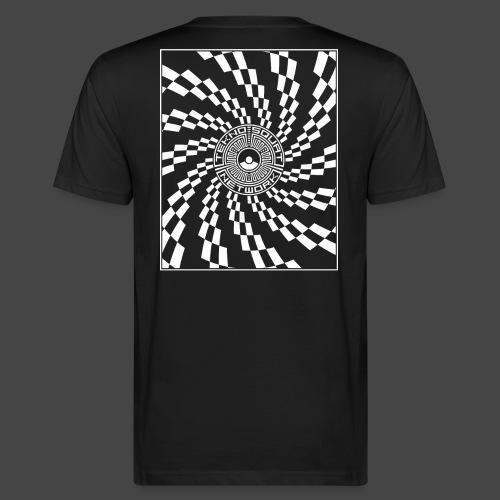 TEKNOSQUAT RÉSEAU SPIRAL - T-shirt bio Homme