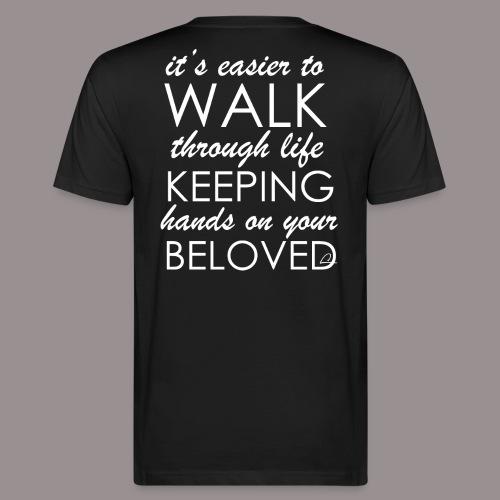 Rakkaus - Miesten luonnonmukainen t-paita