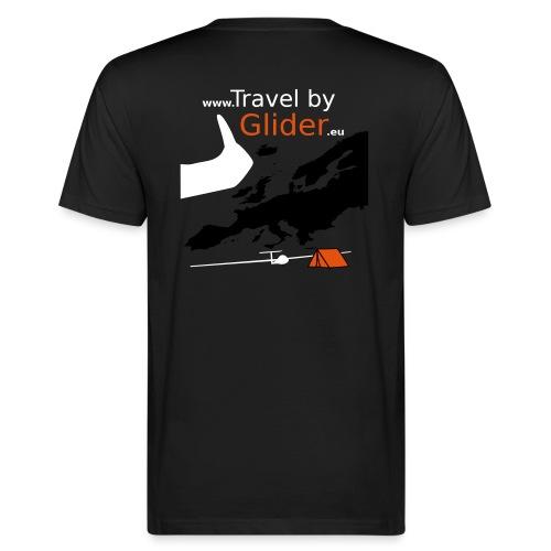 TravelByGlider_Shirt_Logo - Männer Bio-T-Shirt