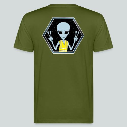 Extraterrestre Gilet jaune - T-shirt bio Homme