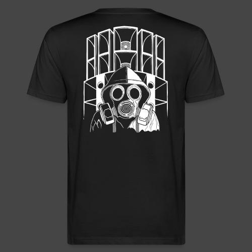 tekno 23 masque à gaz - T-shirt bio Homme