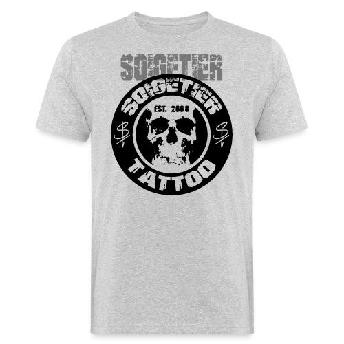 logo bad1 - Männer Bio-T-Shirt