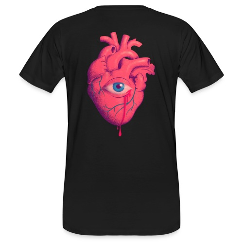 EYE HEART - Camiseta ecológica hombre