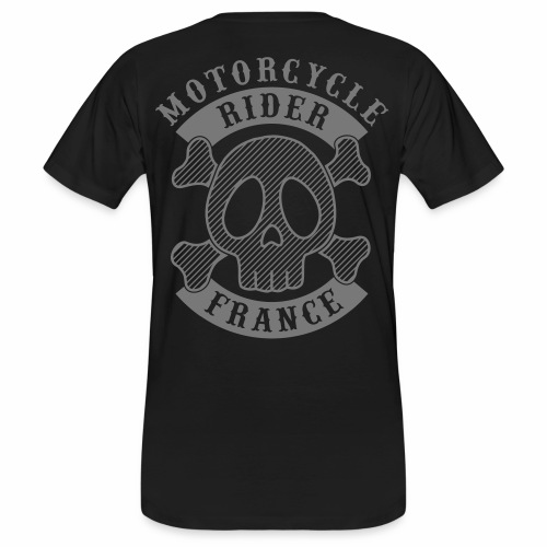 Motorcycle Rider France - T-shirt bio Homme