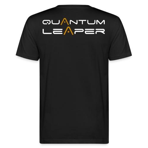 Quantum Leaper White - Men's Organic T-Shirt