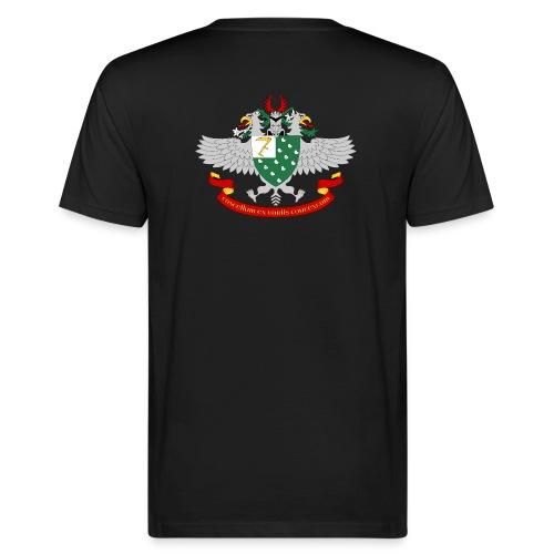 Wappen-Sense - Männer Bio-T-Shirt