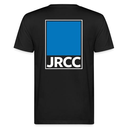 Bloc Logo - Stacked [White] - Men's Organic T-Shirt
