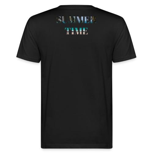 Summertime - Männer Bio-T-Shirt