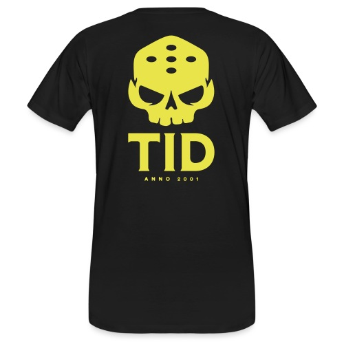 TID tryck rygg - Ekologisk T-shirt herr