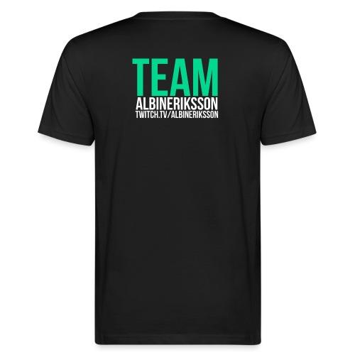 Team albinerikss0n - Ekologisk T-shirt herr