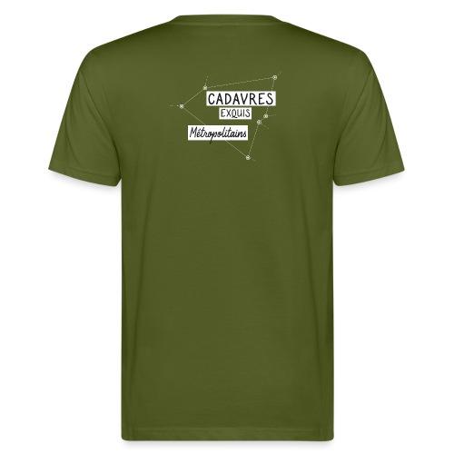 Cadavres Exquis Métropolitains - T-shirt bio Homme