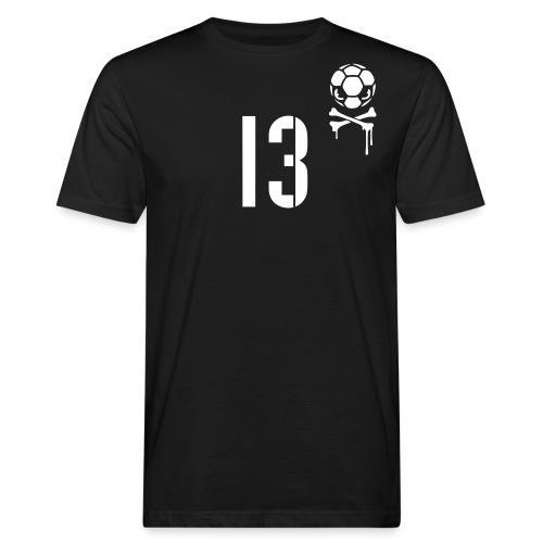 skull 13 1c inv - Männer Bio-T-Shirt