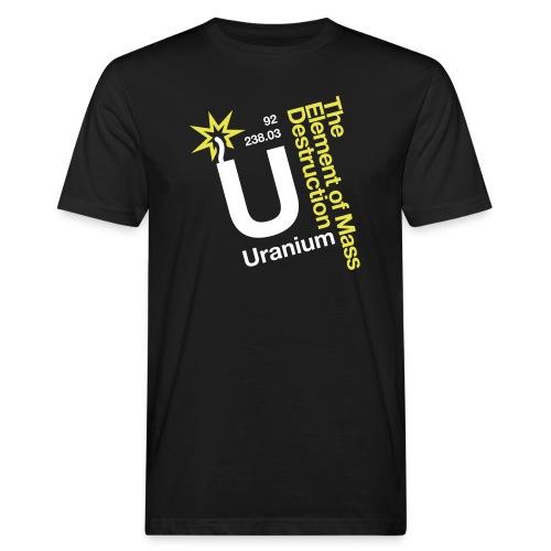 OBE Uranium - Men's Organic T-Shirt