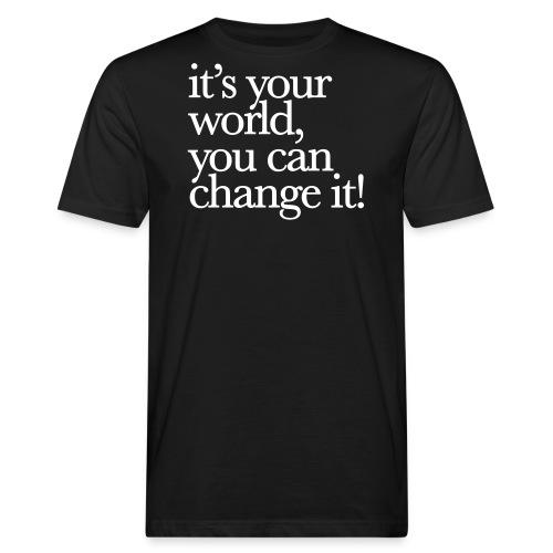 (yourworld) - Männer Bio-T-Shirt