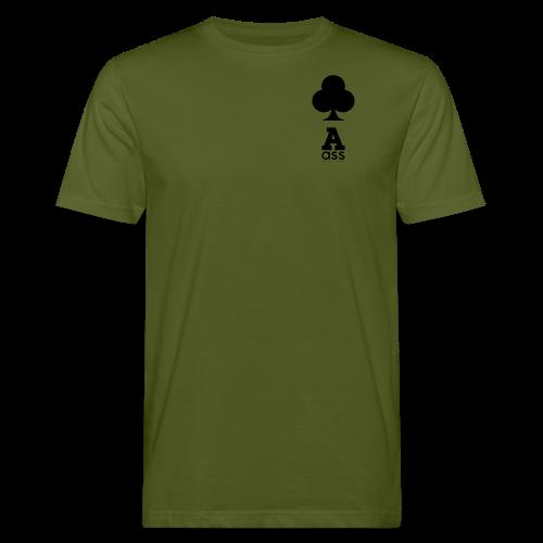 KREUZ ASS - Männer Bio-T-Shirt