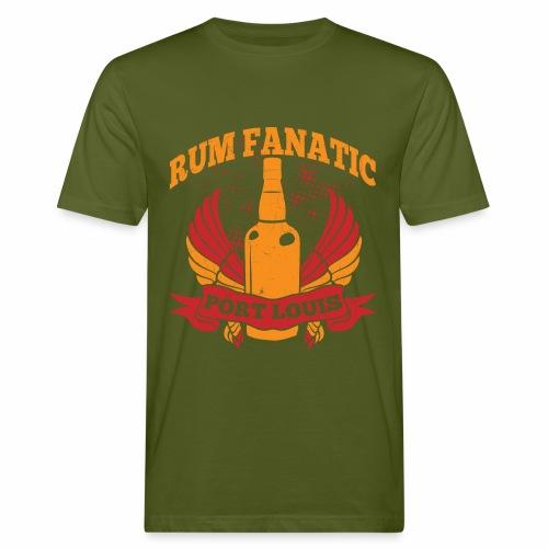 T-shirt Rum Fanatic - Port Louis, Mauritius - Ekologiczna koszulka męska