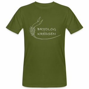 Bryologkredsen - hvidt logo - Organic mænd