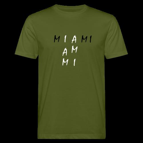 Miami Collection - Økologisk T-skjorte for menn