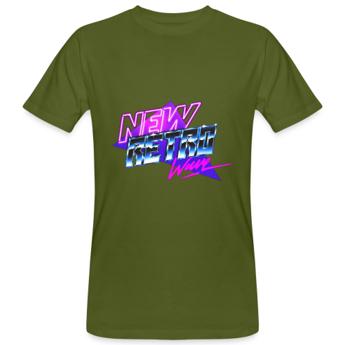 New Retro Wave - Mannen Bio-T-shirt