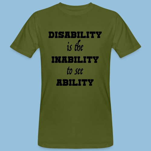 Ability4 - Mannen Bio-T-shirt