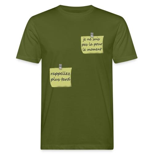 humoristique post-it - T-shirt bio Homme