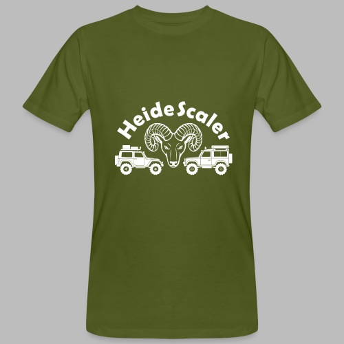 Heide Scaler white HQ - Männer Bio-T-Shirt