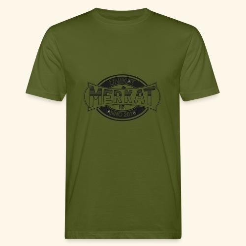 Merkat Unikat - Männer Bio-T-Shirt