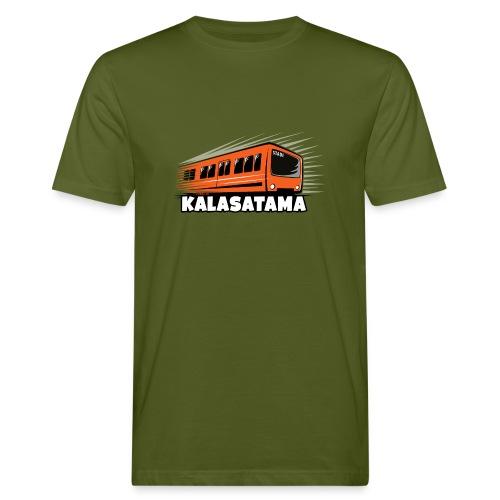 11- METRO KALASATAMA - HELSINKI - LAHJATUOTTEET - Miesten luonnonmukainen t-paita