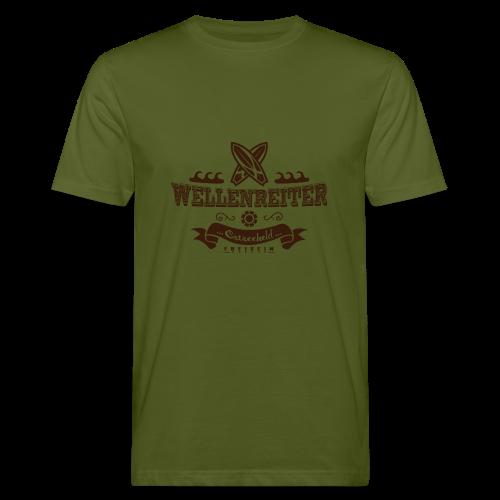 Geweihbaer Wellenreiter - Männer Bio-T-Shirt