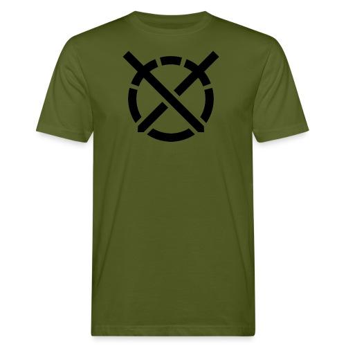 «Arte do Combate» simbolo preto - Camiseta ecológica hombre
