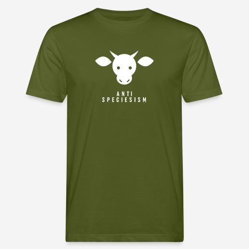 Antispeciesism Single Edition – Cow - Männer Bio-T-Shirt