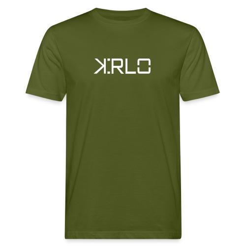 Kirlo Logo Blanco - Camiseta ecológica hombre