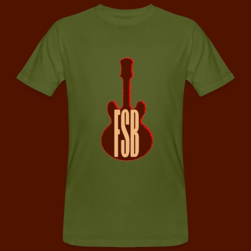 FSB Guitar Logo - Men's Organic T-Shirt