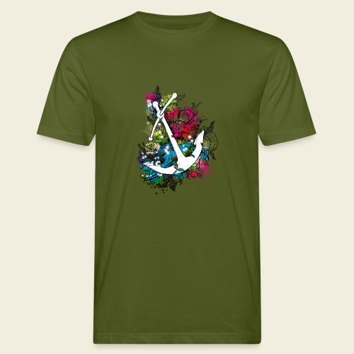 Echte Anker haben Kurven - Männer Bio-T-Shirt