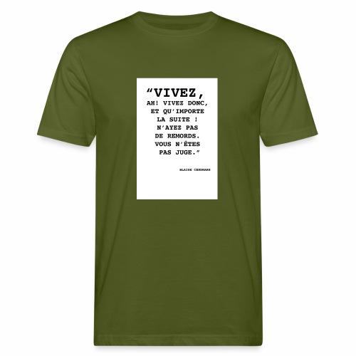 Cendrars#02 - T-shirt bio Homme