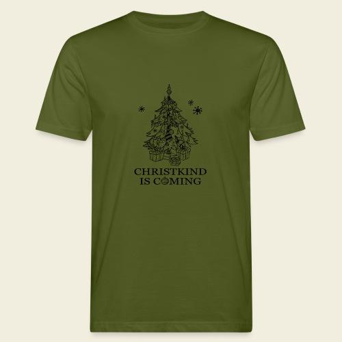Christkind kommt - Männer Bio-T-Shirt