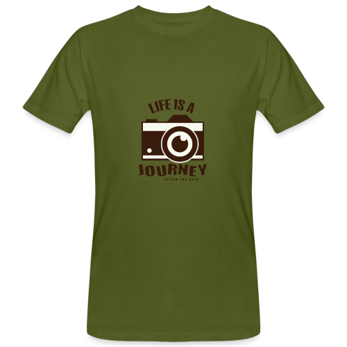 Life is a Journey - Männer Bio-T-Shirt