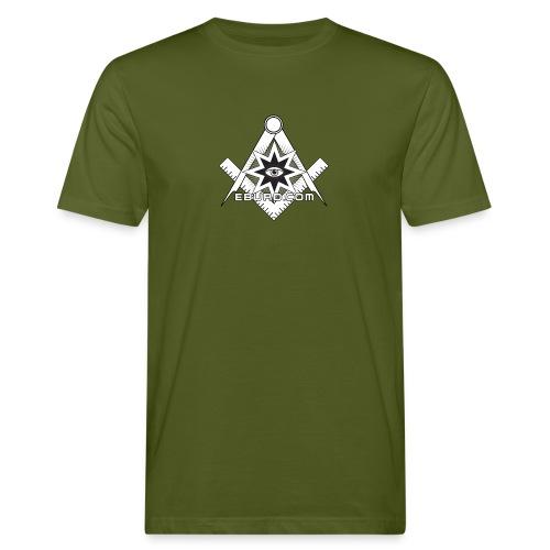 EBURD ILLUMINATI - Männer Bio-T-Shirt
