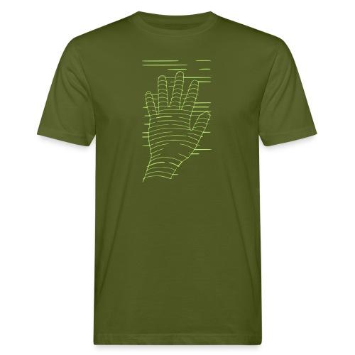 EigenHand gruen - Männer Bio-T-Shirt