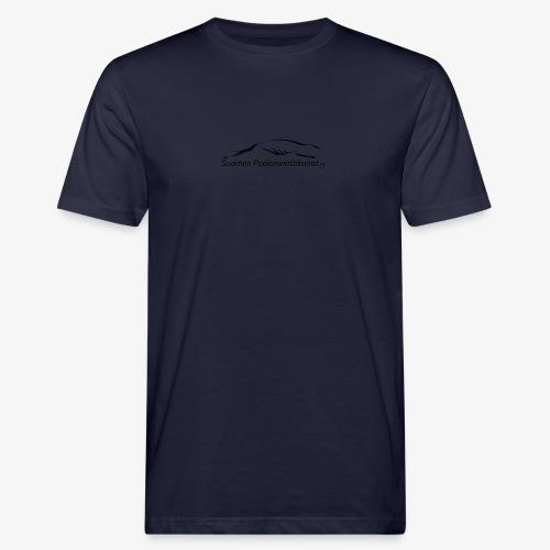 SUP logo musta - Miesten luonnonmukainen t-paita