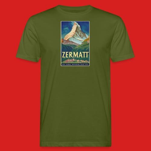 Zermatt - Männer Bio-T-Shirt