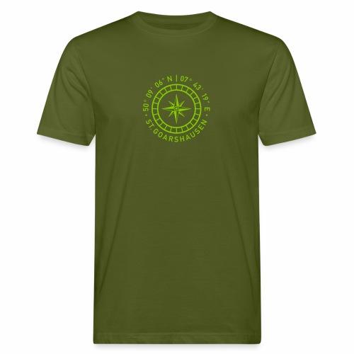 St. Goarshausen – Kompass - Männer Bio-T-Shirt