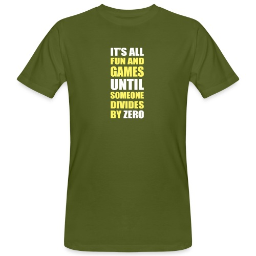 Divide by Zero - Ekologiczna koszulka męska