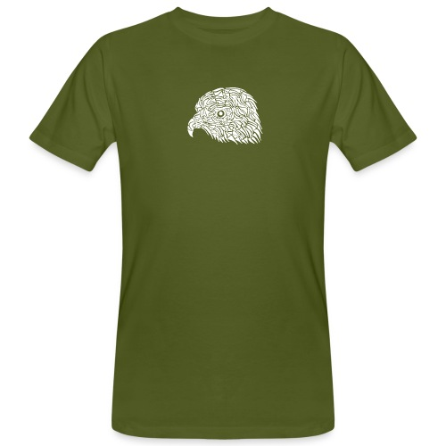 aigle royal blanc - T-shirt bio Homme